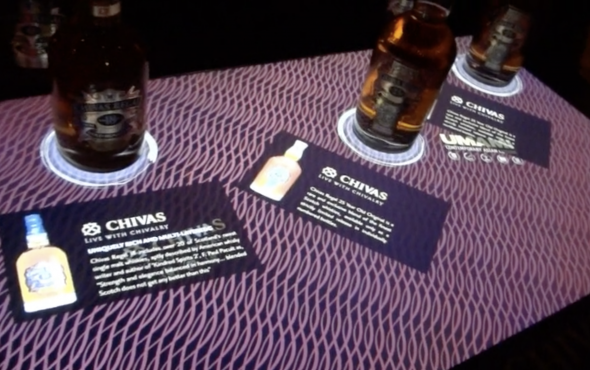 Touchscreen gaming - chivas regal